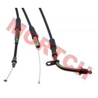 2 Stroke Throttle Cable w/ Lock Slice