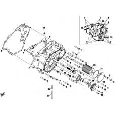CFMoto 400cc 450cc 550cc CF1V91 Left Crankcase Cover