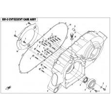 CFMoto CF800 CVT Air Guide