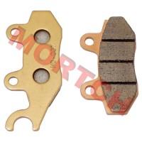 Sintered Right Brake Pad, Front Brake