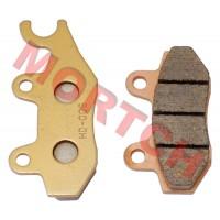 Sintered Left Brake Pad, Front Brake