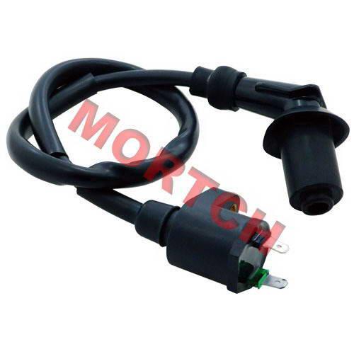 GY6 50cc Ignition Coil + Spark Plug Cap